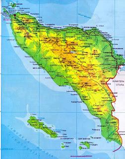 Peta Adiminstrasi Propinsi Aceh
