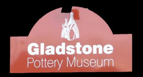 Gladstone Pottery Museum Story sign