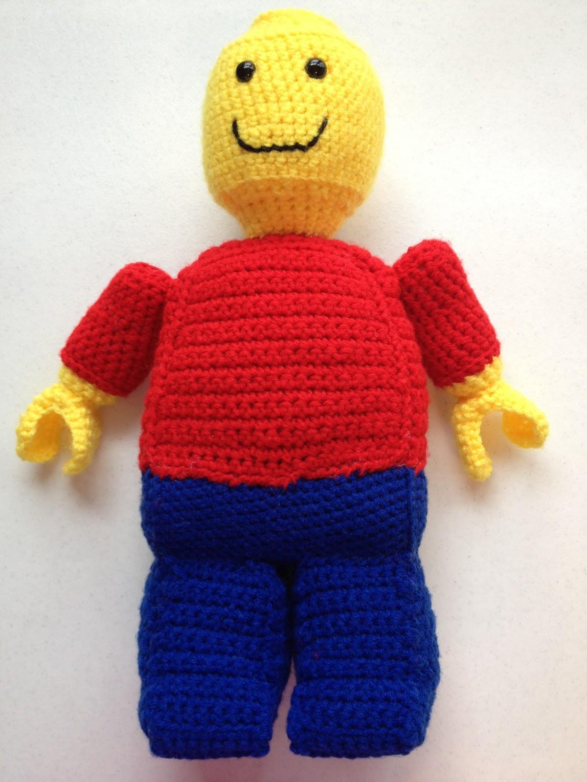 Amigurumi Lego Man : Make ALL The Things!: Christmas Presents: Lego Man