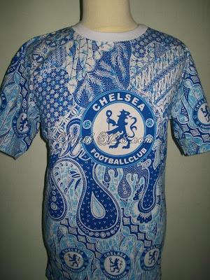 Kaos Batik Bola Solo Murah Harga Grosir