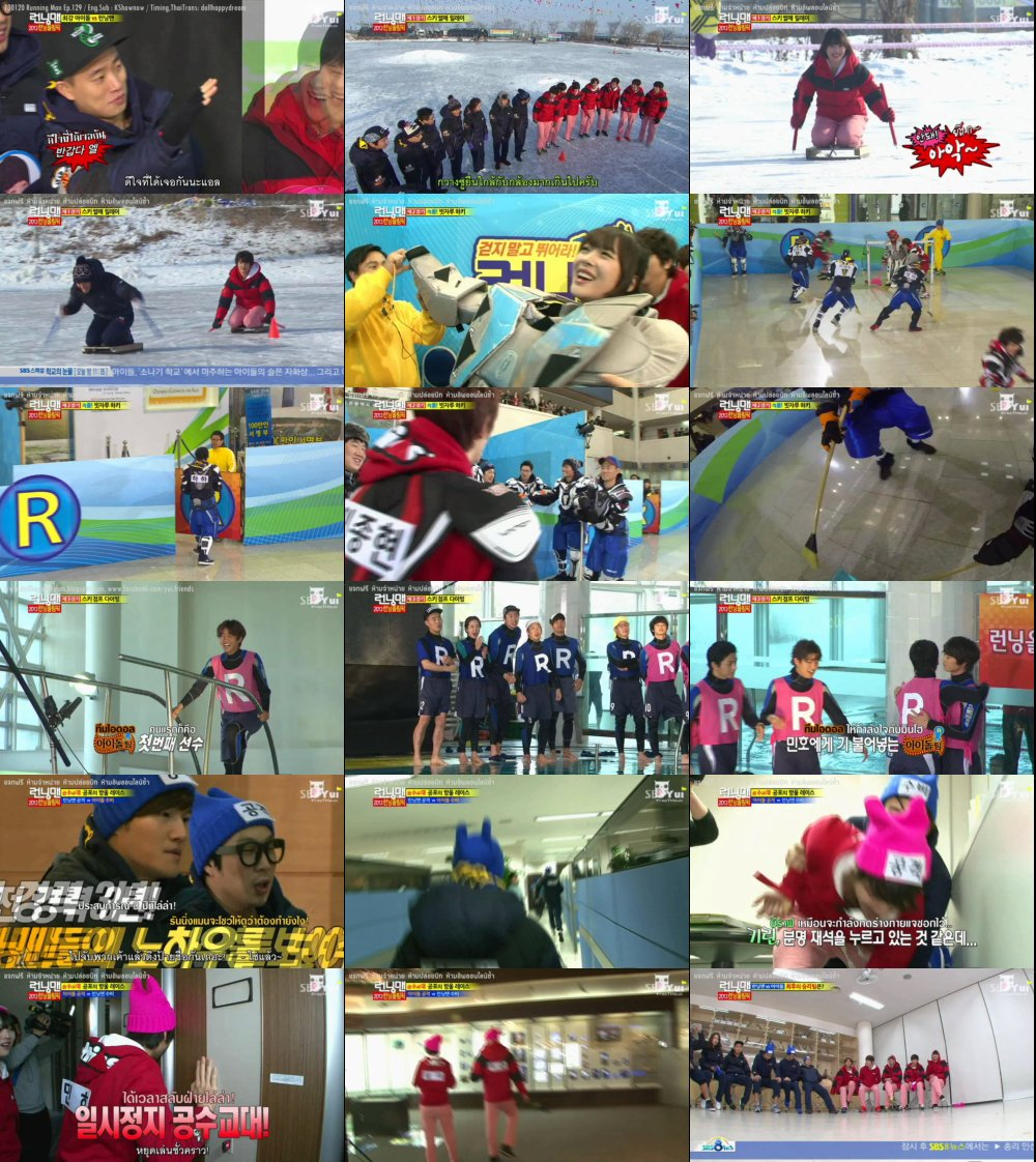 Runningman Sub Thai EP129