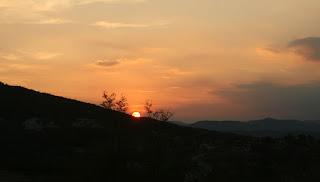 Lovely sunset once again