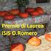 Premio di Laurea ISIS O.Romero per tesi di laurea SUI CONSUMI CRITICI E STILI DI VITA SOSTENIBILI.