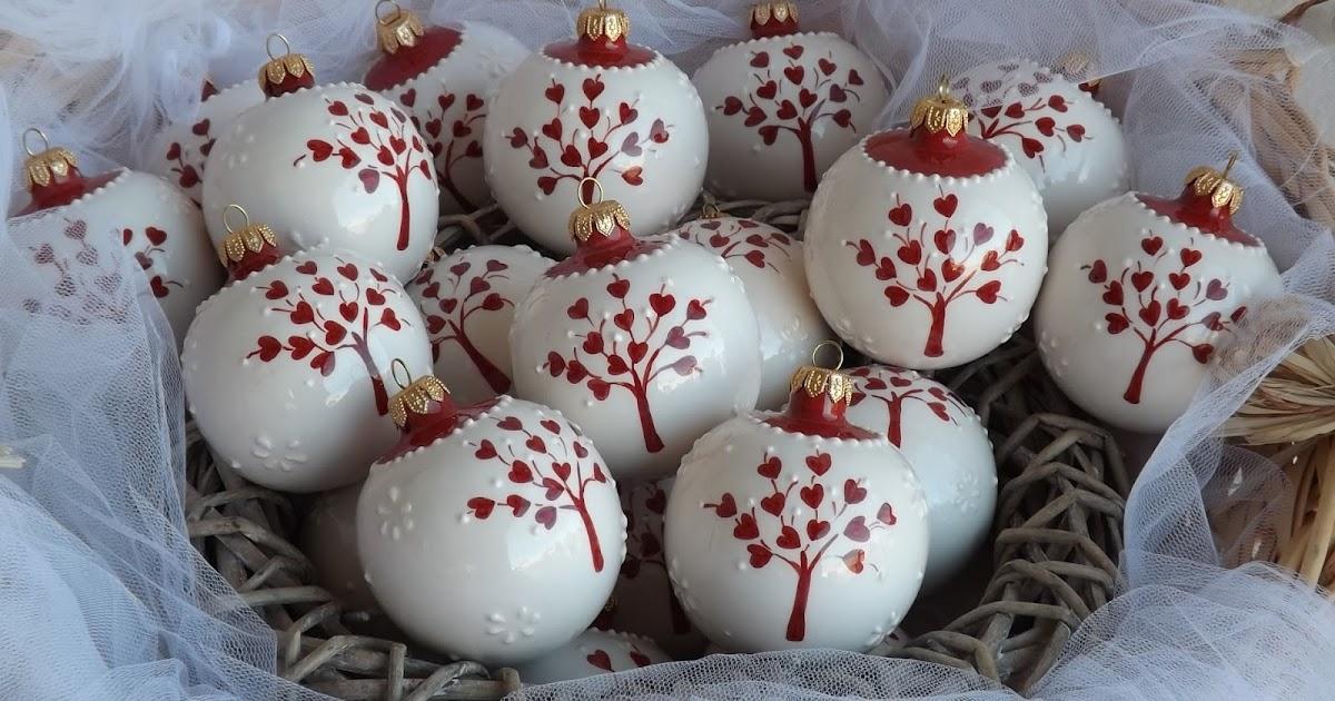 Matrimonio Natale Bomboniere : Ceramica come mestiere pallina di natale bomboniera