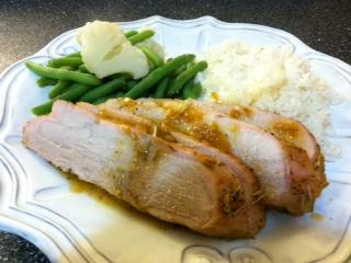 My Everyday Exceptional: Rosemary Apricot Glazed Pork Tenderloin