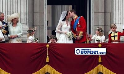Gambar Budak Berwajah Bengis Semasa Perkahwinan Putera William Dan Kate Middleton