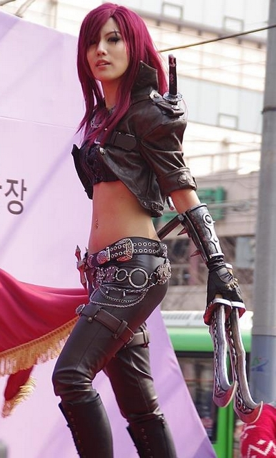 Katarina League of Legends Cosplay