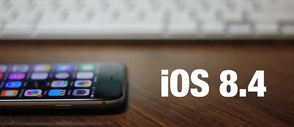 Apple iOS 8.4 Final Firmware