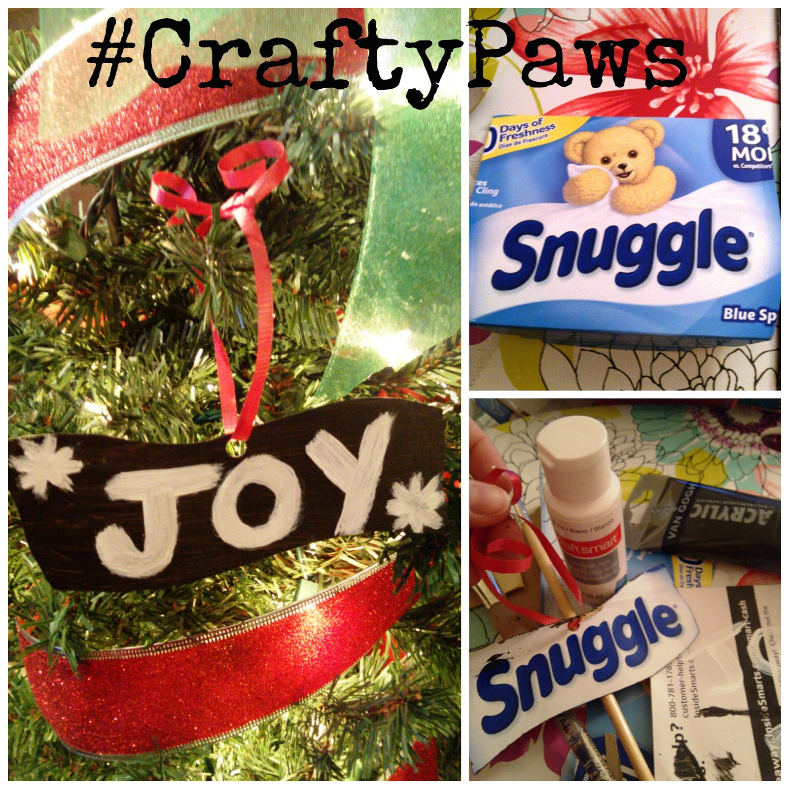 #CraftyPaws Dryer Sheets Box mission with #TeamSnuggle