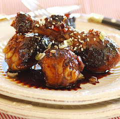 Glazed Asian Drumsticks