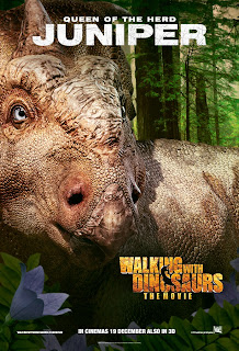 juniper  in Walking with Dinosaurs official character movie poster malaysia release