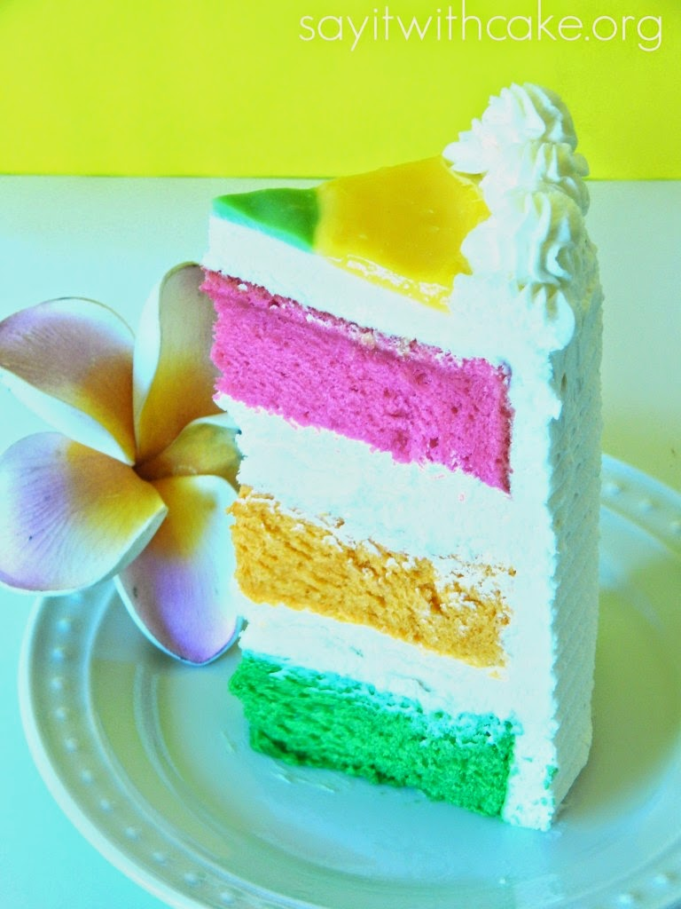 Gorgeous Hawaiian Paradise Cake