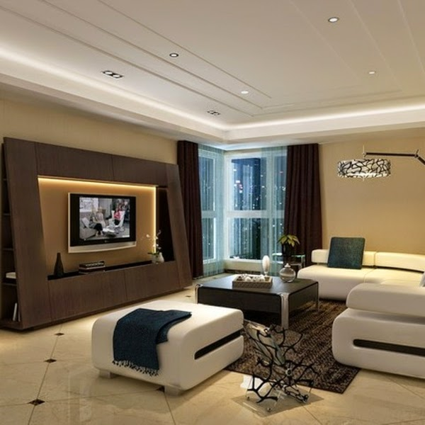 How to use modern tv wall units in living room wall decor How high to mount tv on wall in living room