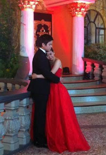 Miles Ocampo and Marco Gumabao sweet on Prom