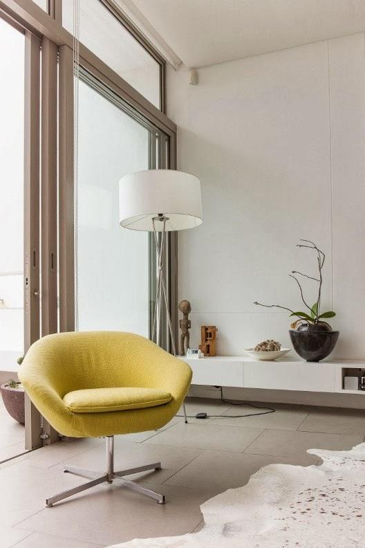 una casa de diseño de concepto abierto