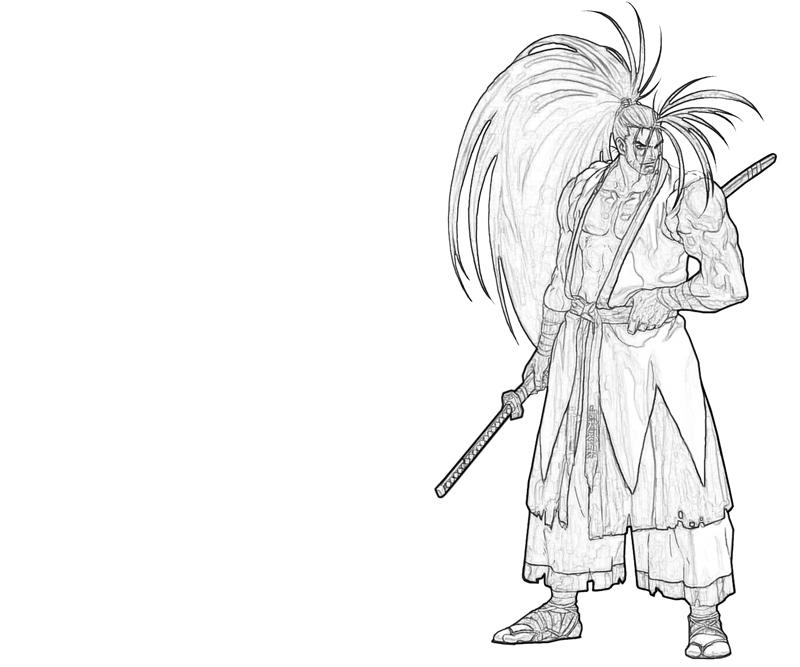 haohmaru-character-coloring-pages