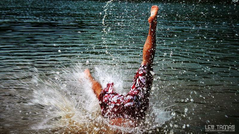 Berenang, Bermain Air