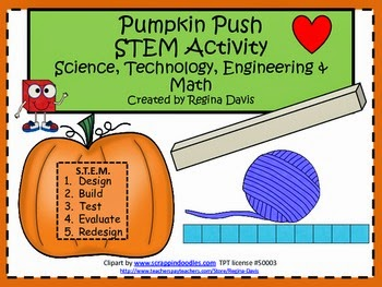 http://www.teacherspayteachers.com/Product/A-Pumpkin-Push-STEM-Activity-Science-Technology-Engineering-Math-405940