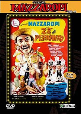 72116039 1 Ze Do Periquito Colecao Mazzaropi Vol 8 DVD Centro Mazzaropi Zé do Periquito   Nacional