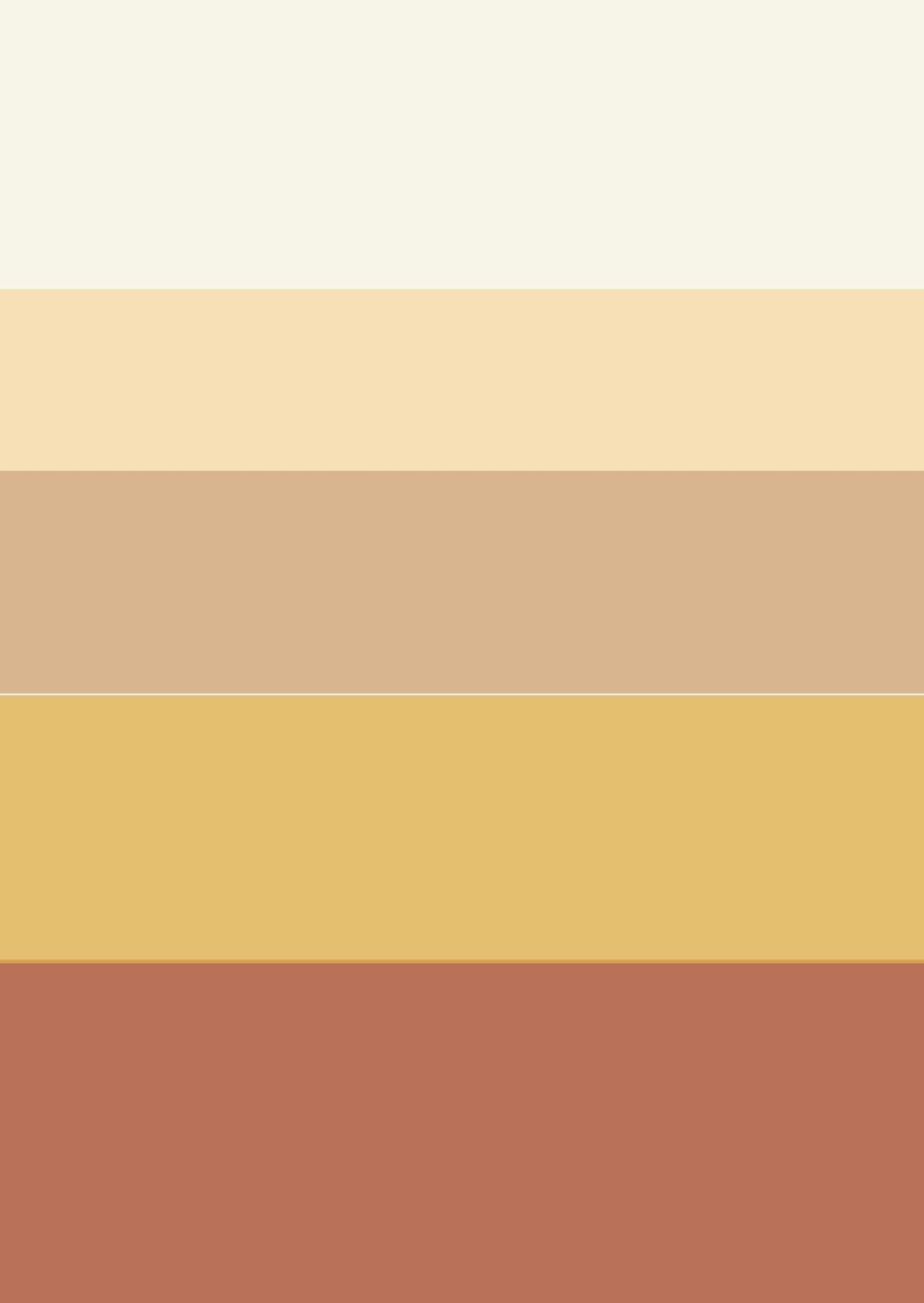 Escuela de interiorismo estilo toscano - Paleta de colores para paredes ...
