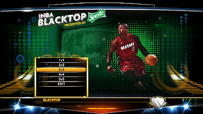 NBA 2K13 Dwyane Wade Blacktop Titlescreen Mod