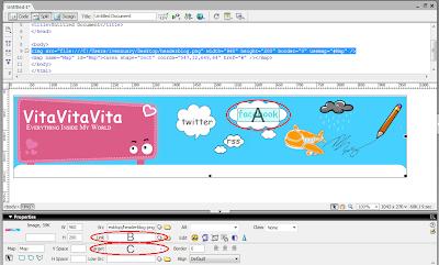 Gambar Header Pake Link dan Bisa Di Klik