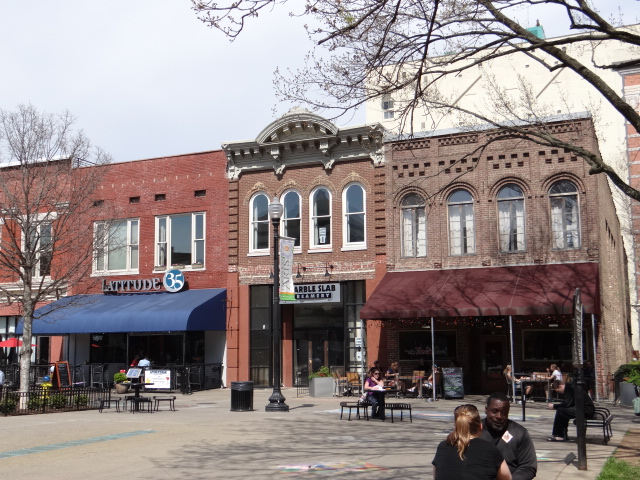 Market square in knoxville tennessee