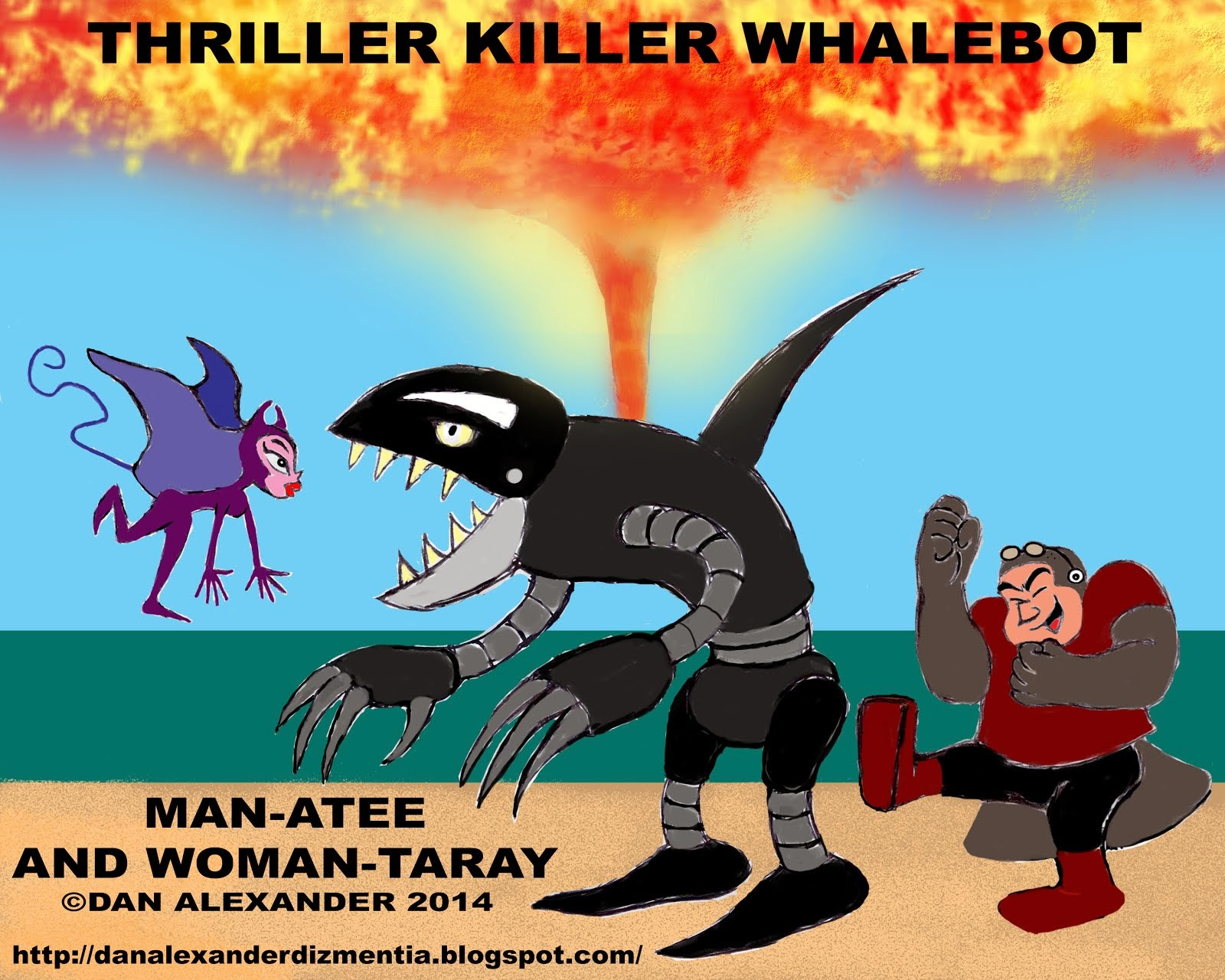 MAN-ATEE AND WOMAN-TARAY: UPSTART SUPERHEROES, OR DIABOLICAL VILLAINS?