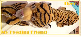 My Feeding Friend Tiger, breastfeeding pillow all in one