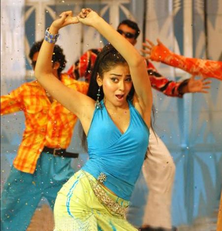 Shriya Saran Hot Armpit Photos