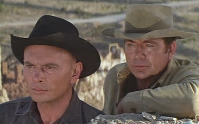 Return Of The Seven, Starring Yule Brynner and Claude Akins