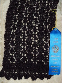 Wooly Bear's Blue Ribbon Lace