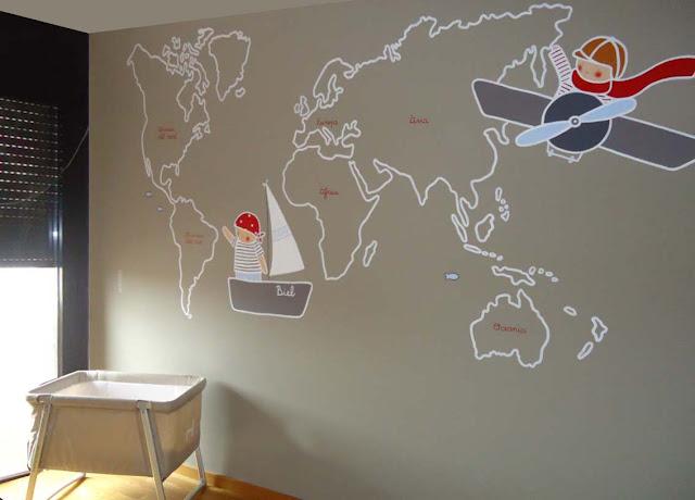 Murales infantiles pintados a mano octubre 2011 - Murales pintados a mano ...
