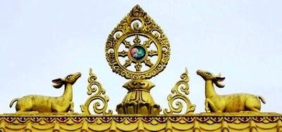 Miroir du dharma retraite d 39 enseignements sur le noble for Miroir du dharma