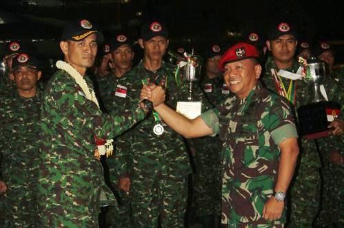 Kopassus Berhasil Raih 29 Medali Emas Dalam Ajang Menembak Se-ASEAN