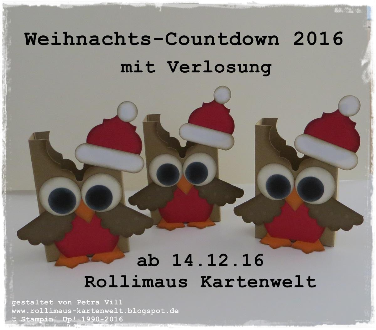 Mein Weihnachts - Countdown für DICH