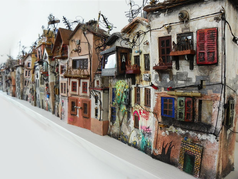 04-Katarina-Pridavkova-Fantasy-Architecture-in-Plaster-and-Clay-Town-www-designstack-co