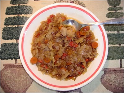 Slow Cooker Diet Cabbage Soup recipe