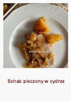 http://przysmakikarolki.blogspot.com/2013/01/schab-pieczony-w-cydrze.html