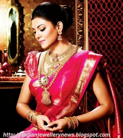 Temple Jewellery Set By kalyan jewellers