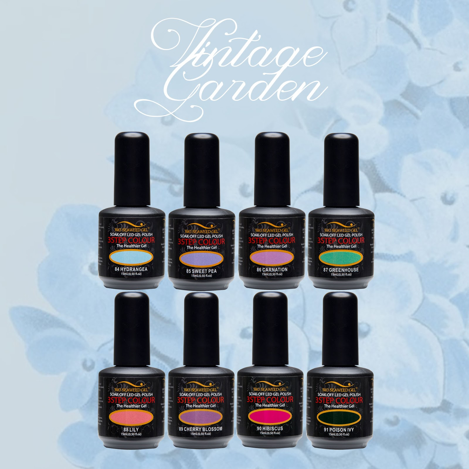 Bio Seaweed Gel Vintage Garden Collection