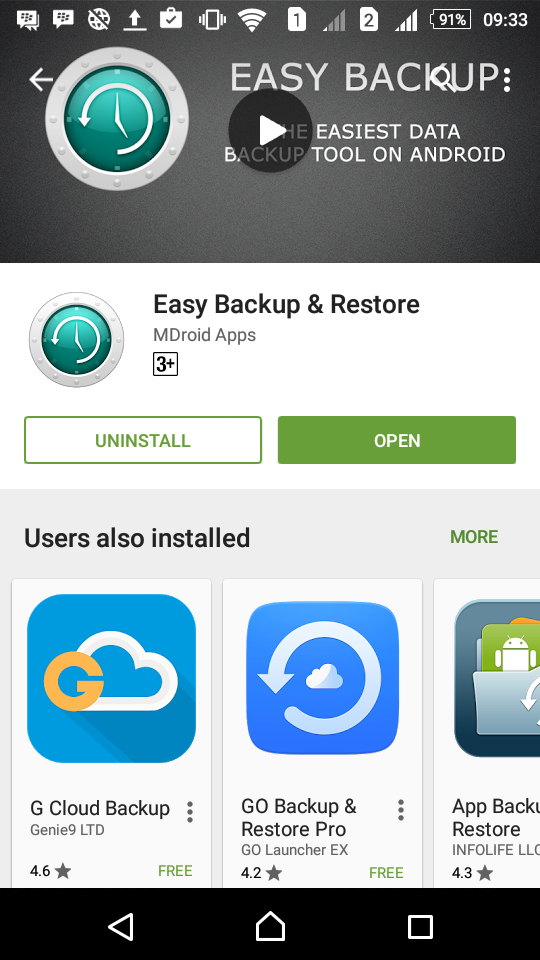 android i-easy drive download