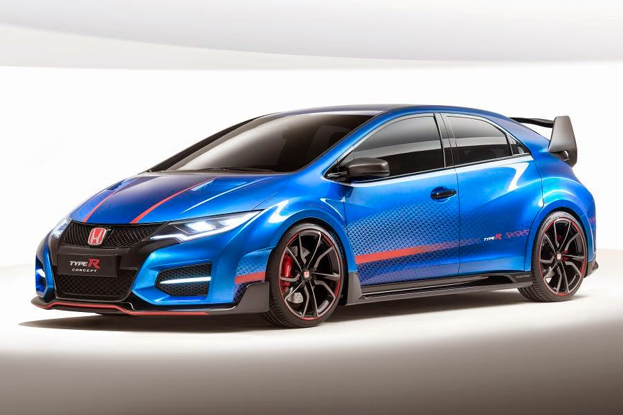 Honda Civic Type R Concept (2015) Front Side