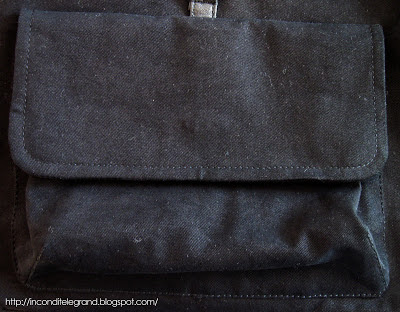 patch pocket with a flap
