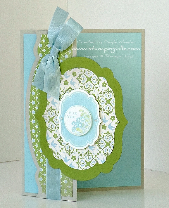 Stampin' Up! Apothecary Art Stamp Set Card Idea