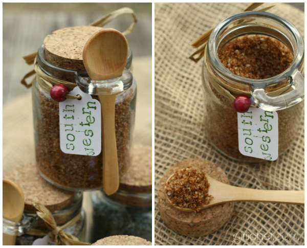 Southwestern Sea Salt {DIY} #HandcraftedHolidays at www.girlichef.com