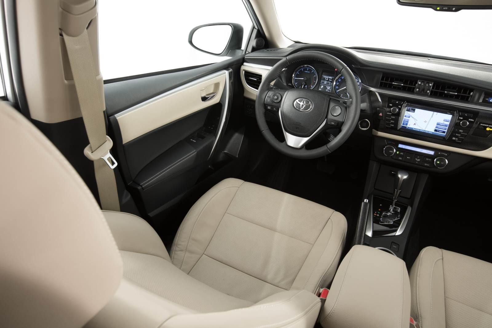 A Toyota Explica Os Precos Do Novoon 2014 Toyota Corolla S Interior