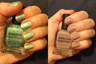 Deborah Lippmann, Deborah Lippmann nail polish, Deborah Lippmann swatches, Deborah Lippmann nail polish swatches, Deborah Lippmann Mermaid's Dream, Deborah Lippmann Modern Love, swatches, nail polish swatches, nail polish, polish, lacquer, nail lacquer
