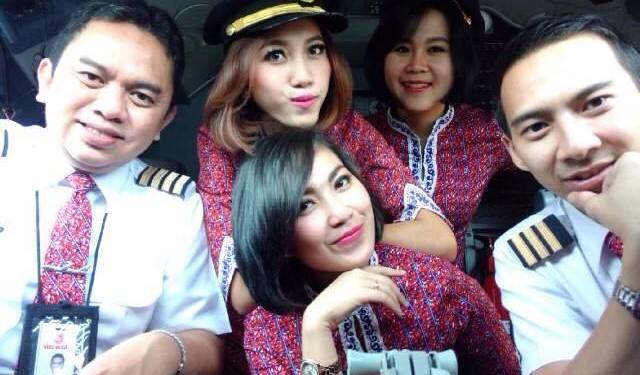 Desahan di Kokpit Lion Air
