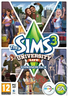 The Sims 3 University Life PC